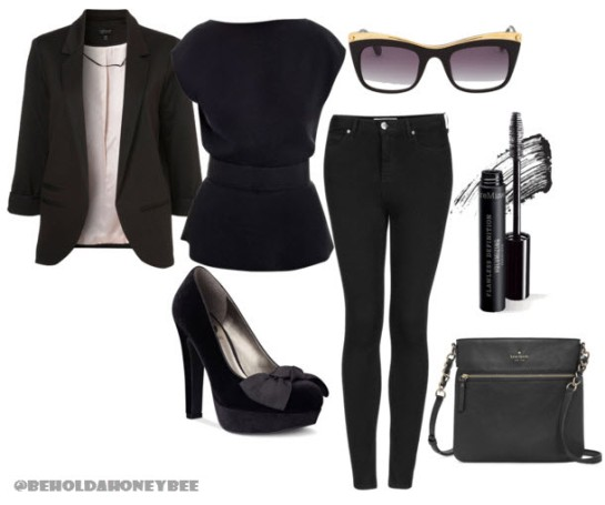 black on black polyvore II