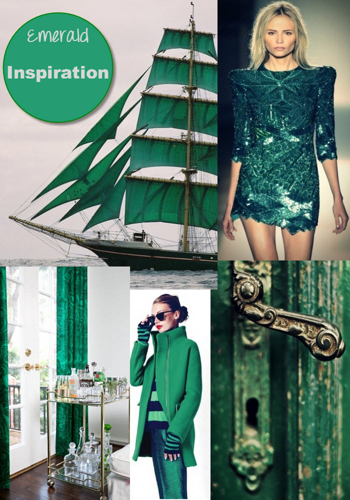It Flatters Every Skin Tone And Looks Amazing In Home Decor Emerald Drapes Perhaps I Look Forward To Rockin Emerald All Year Round