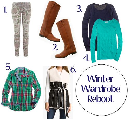 Winter Wardrobe Reboot