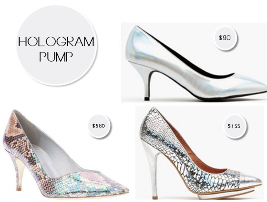 Hologram pump