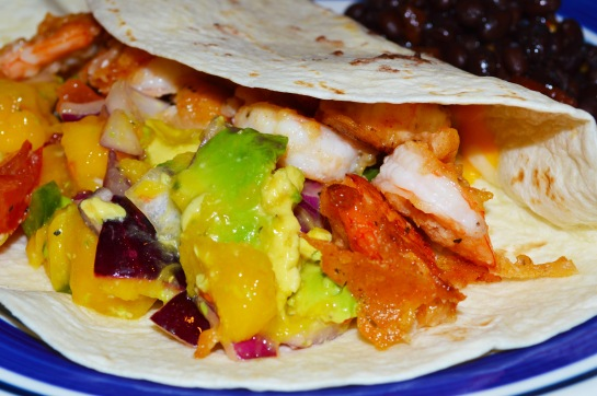 Beer Battered Shrimp Tacos2