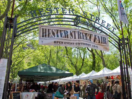 Hester Street Fair, NYC