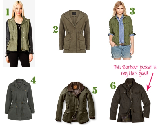 utility military jackets