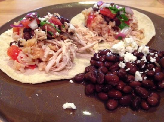Barbacoa Chicken Tacos