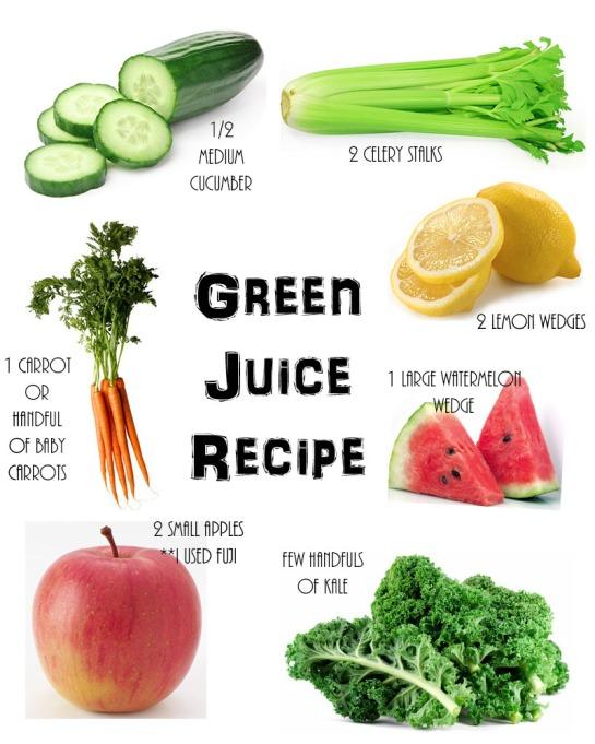 Greem juice recipe