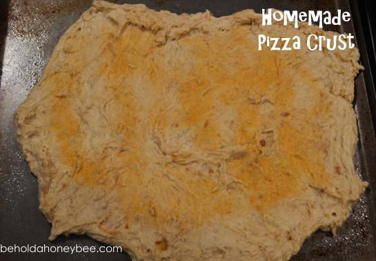 Homemade pizza crust 1