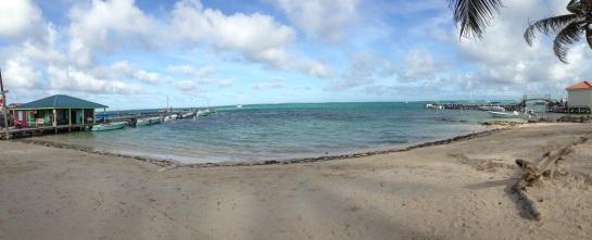 Leaving San Pedro Belize
