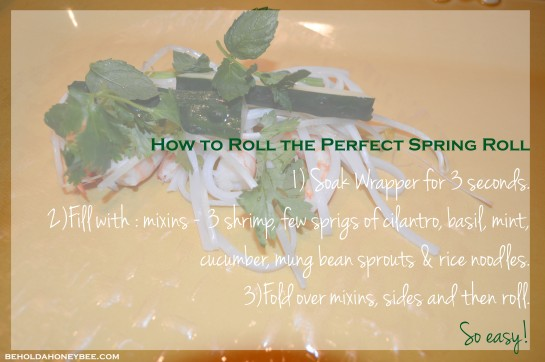 perfect spring roll
