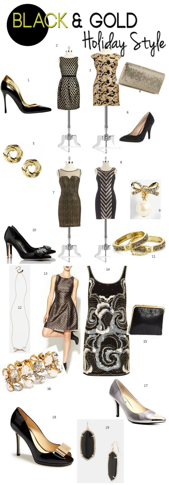 Black and Gold Holiday 2