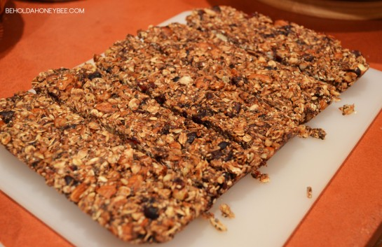 Homemade Granola Bars 2
