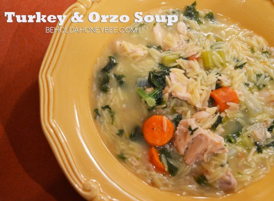 Turkey and Orzo Soup