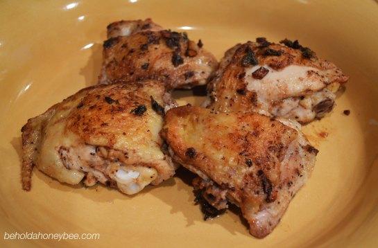 Garlicky Chicken 4