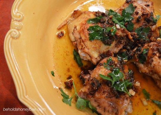 Garlicky Chicken 6